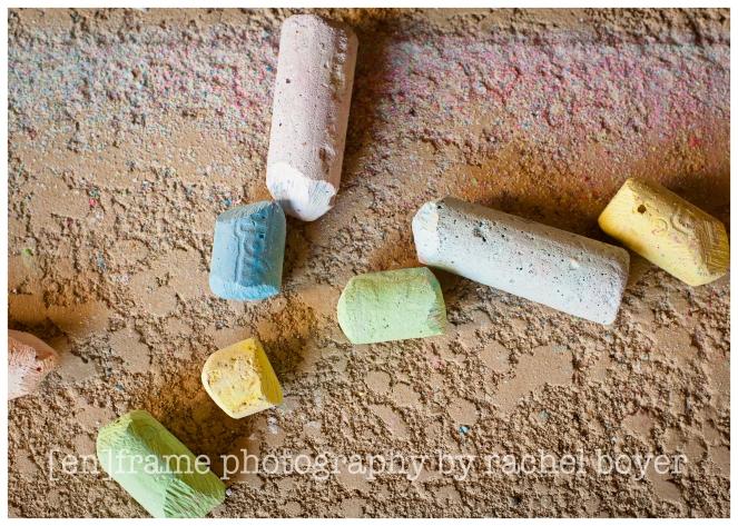 texture study, chalk