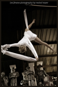 Special Event Photography, Circus School of Arizona Event at Themers in Mesa, Arizona, Aerial Acrobatics