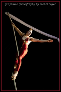 Special Event Photography, Circus School of Arizona Event at Themers in Mesa, Arizona, Aerial Acrobatics, Rope
