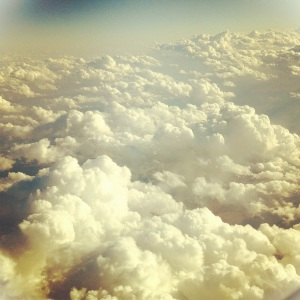 clouds from above, iphoneography by enframephoto on instagram