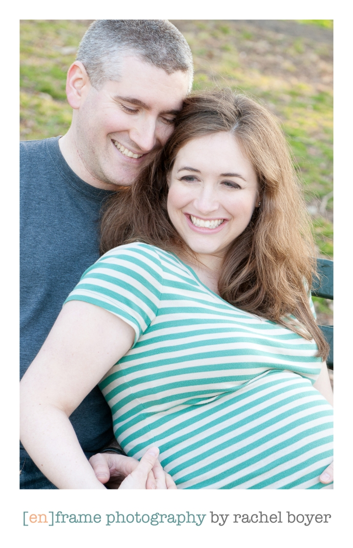 gorgeous parents-to-be, natural light maternity photography