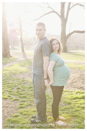 natural light maternity photo session, prospect park, new york