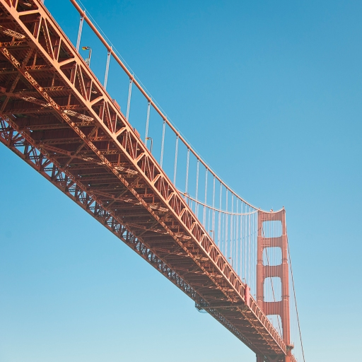 a new perspective on the golden gate bridge
