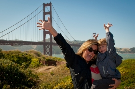 family photo, travel photography san francisco
