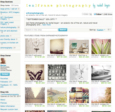 Etsy Photography on sale