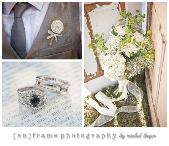 wedding photography; images by enframe photography by rachel boyer