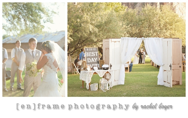 phoenix area wedding photography; saguaro lake ranch wedding