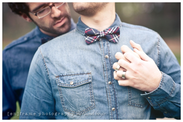 gay couple engagement session photograph