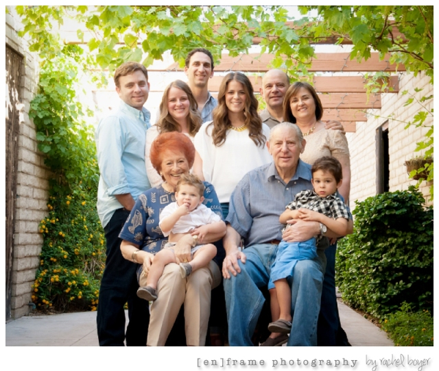 Multi-generational Family Photography