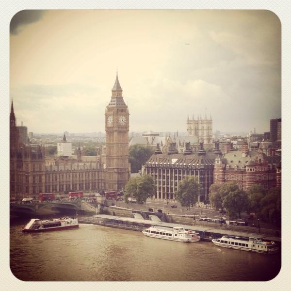 London iphoneography; Big Ben