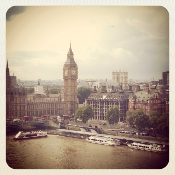 London iphoneography; Big Ben