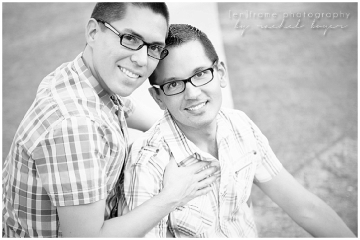 same sex couple portrait photography