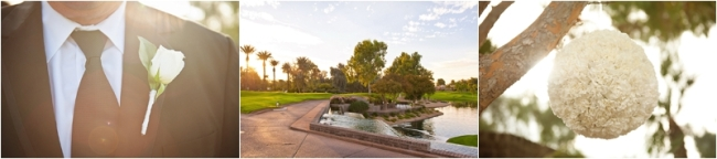 Wedding at Gainey Ranch Golf Club, Scottsdale, Arizona