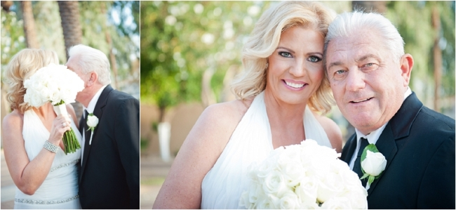 Scottsdale Wedding Photography; portrait of Bride and Groom; Gainey Ranch Golf Club, Scottsdale, Arizona