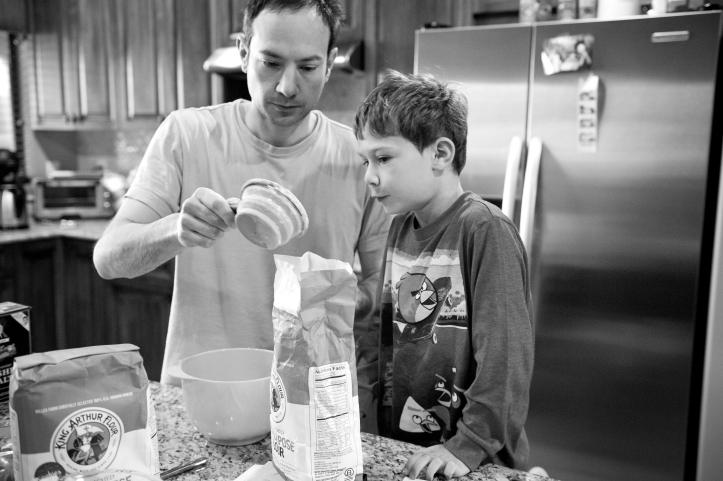 arizona lifestyle photography, storytelling, making pancakes 01