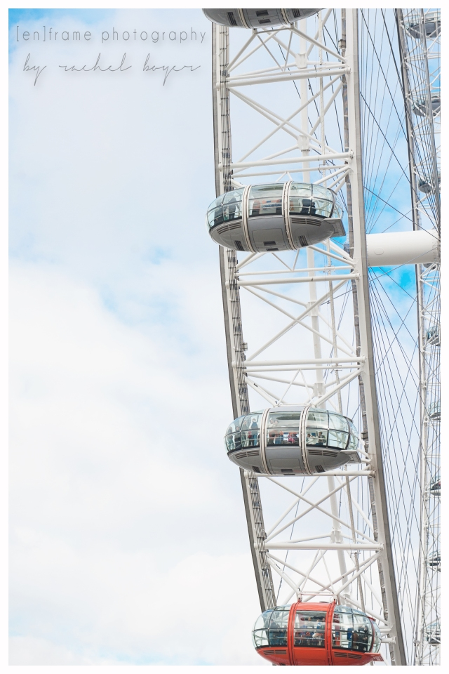 London Travel Photography, Contemplative Photograph of London Eye, Creative Travel Photography