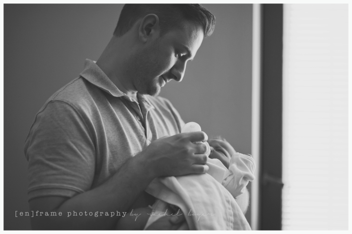 father and daughter; newborn family photography glbt