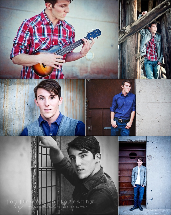 Senior Photography Session Downtown Tempe High School Senior Boy Photography Urban Photoshoot Musician Teenager Hayden Flour Mill Tempe Arizona