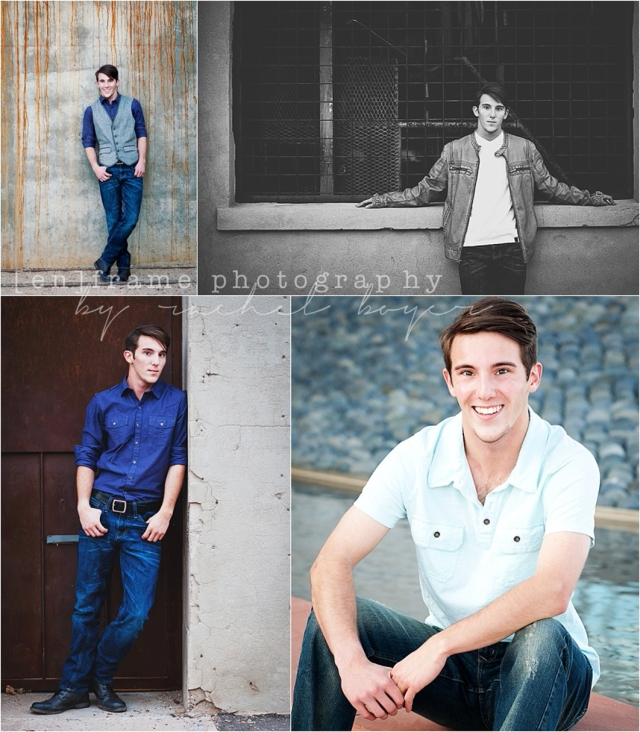 Senior Boy Photography, Male Portrait Urban Photo Session, Downtown Tempe, High School Senior Photography