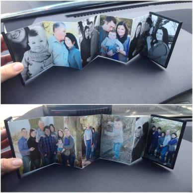 mini accordion family photo album family photography by enframe photography by rachel boyer