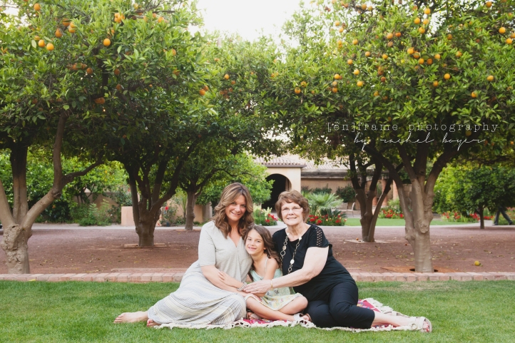 Family Photo Session at Royal Palms Resort and Spa, Phoenix, Arizona