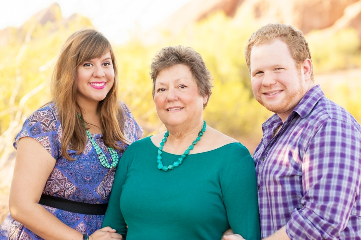 70th Birthday Family Portrait Session |Phoenix Family Photographer | enframe photography by rachel boyer