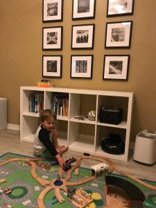 train theme kids room