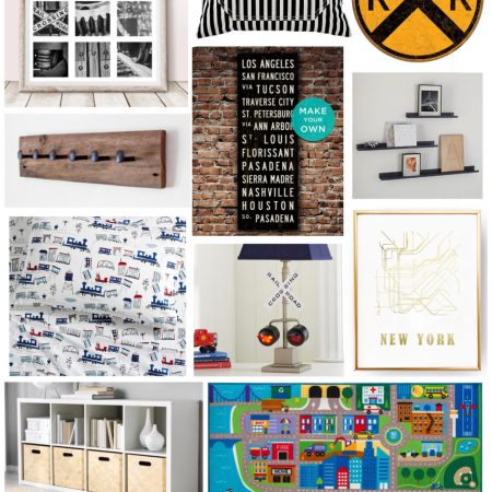 Train Theme Kids Room Inspiration