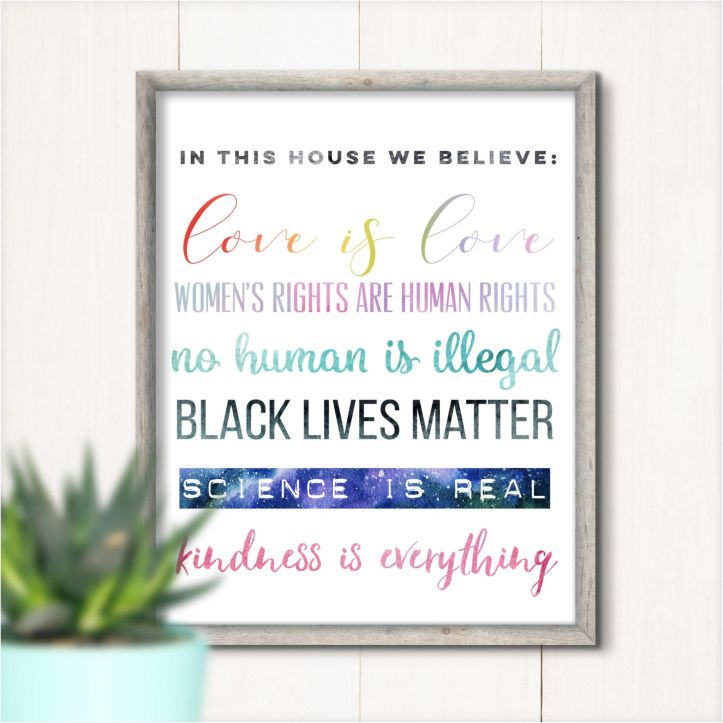 In This House We Believe. . .