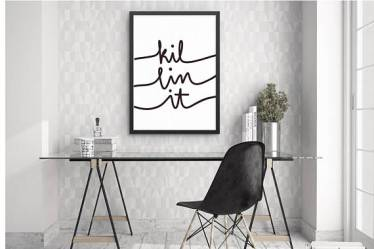 Printable Office Decor: Killin' It