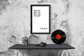 printable home decor, art for your man cave, lyrics, art for music lovers