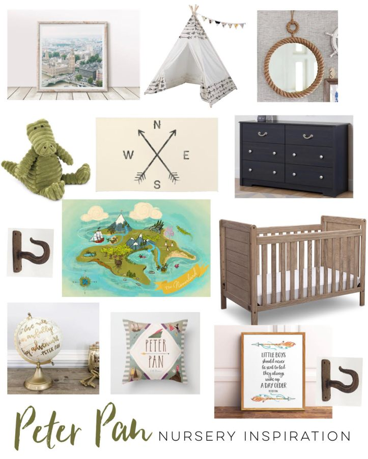 Peter Pan Nursery Inspiration