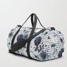 navy-blue-boho-floral-with-herringbone-print-duffle-bags.jpg