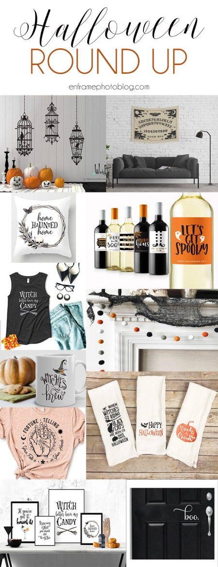 Halloween Decor Round Up