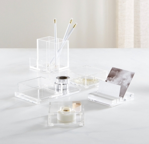 Chic Acrylic Desk Organizers | Easily Create a Chic Office Space