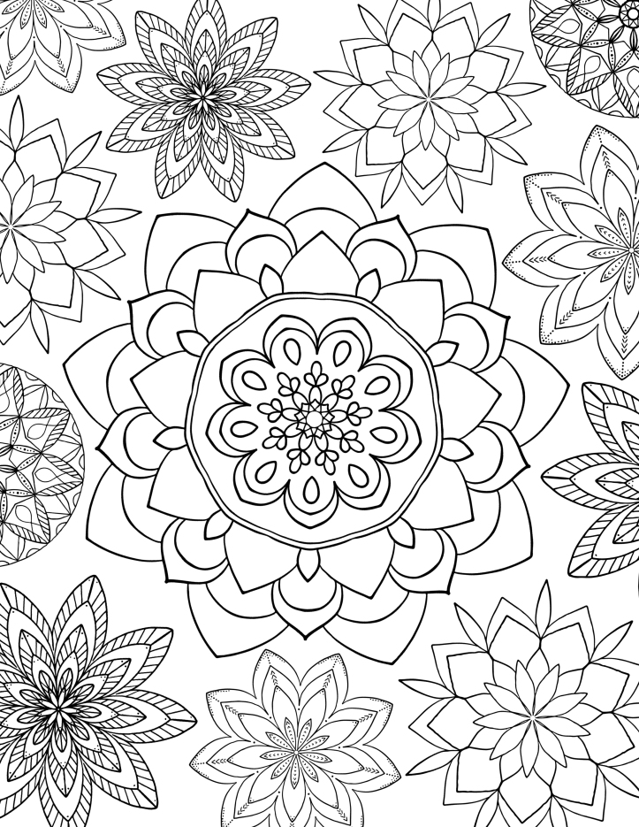 Printable Coloring Pages for Kids While Social Distancing