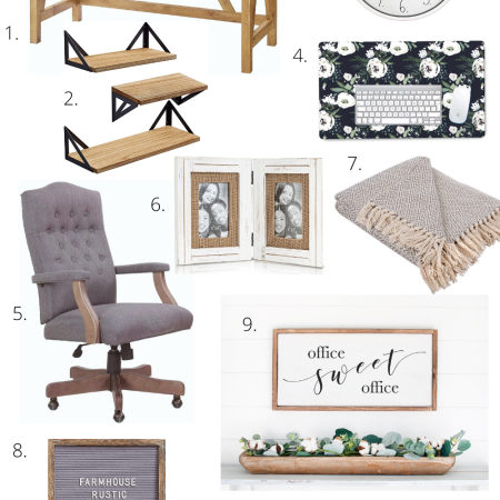 Farmhouse Style Office Decor