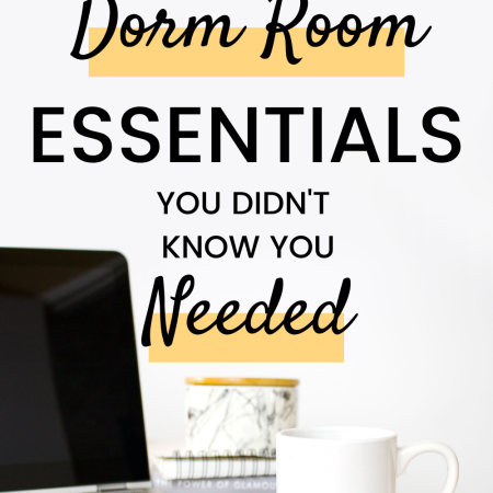 11 Dorm Room Essentials You Didn't Know You Needed